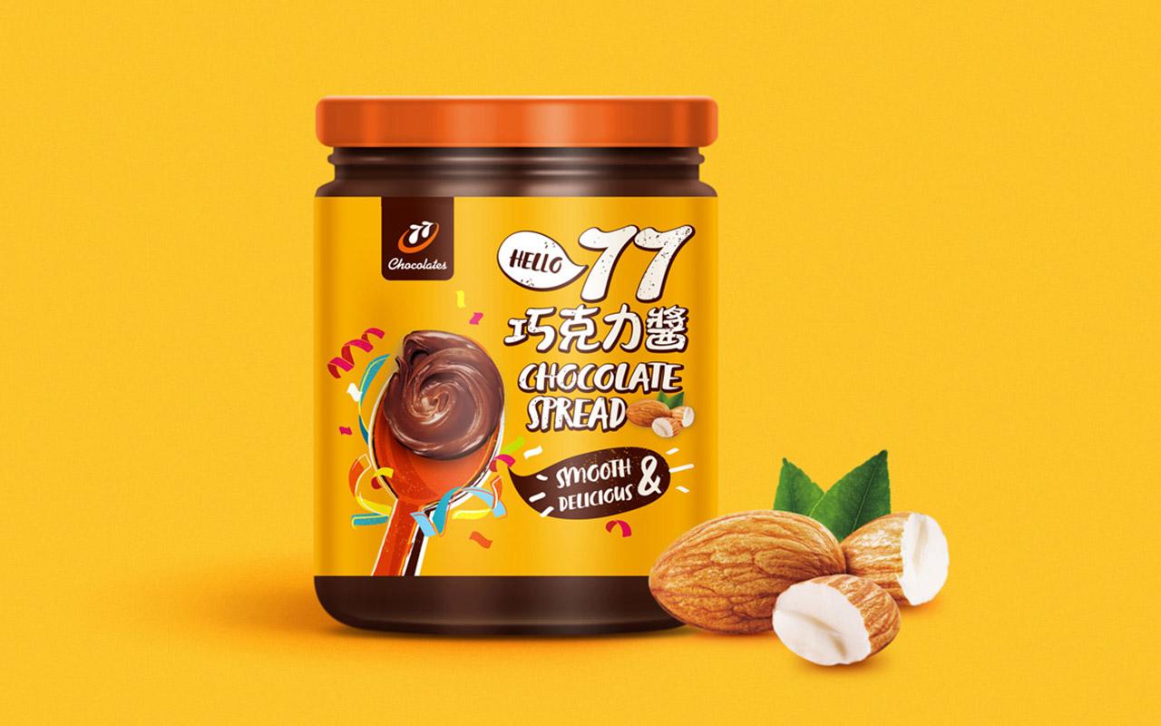 77巧克力醬